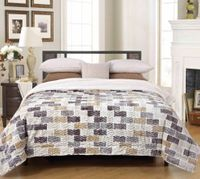 Brick Chevron Luxury Textured Sherpa Blanket