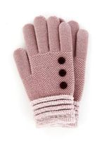 Britt's Knits Woman's Gloves (Blush)