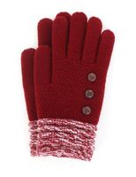 Britt's Knits Woman's Gloves (Burgundy)
