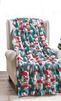 Christmas Tree Pick Up Throw Blanket