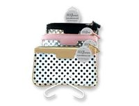 Clear Essentials Make Up Bags (3 pc set)