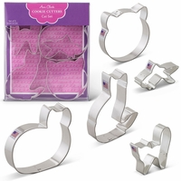 Cookie Cutter Gift Set:  Cat Set