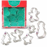 Cookie Cutter Gift Set:  Christmas Set