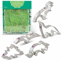 Cookie Cutter Gift Set:  Dinosaur Set