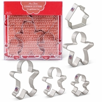 Cookie Cutter Gift Set:  Gingerbread Set
