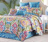 Deluxe 5 Piece Quilt Sets