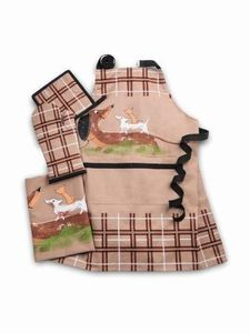 Dogs & Friends Apron Gift Set