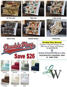Double Play @ Linen World