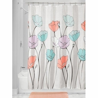 Fabric Shower Curtains Ayana