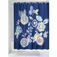 Fabric Shower Curtains Garden Floral