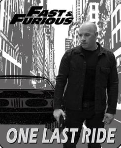 """Fast & Furious """"One Last Ride"""" Blanket"""