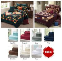 Featured Quilts with FREE Sheet Set