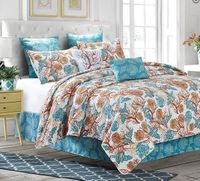 Beach Comber King Quilt Ensemble