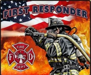 First Responder Blanket FIRE