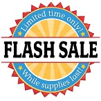 <b>Flash Sale</b><br><font color=red>40% OFF ALL ITEMS</font color>