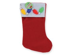 Flashing Holiday Stocking