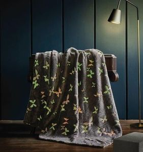 Flutter Magical Glow Throw