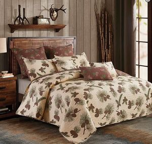 Forest Pines King Quilt Ensemble