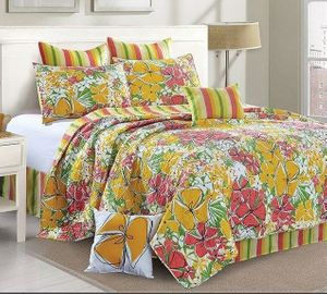 French Meadows King Quilt Ensemble