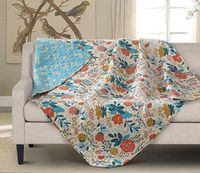 Greta Quilted Throw