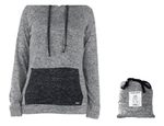 Hooded Top Gray Small