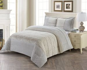 Intricate Oyster Luxury Textured Flannel Blanket