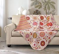 Jasmine Quilted Throw