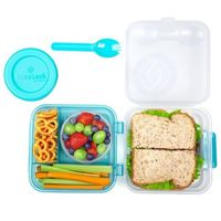 Lunch Plus To Go (teal)