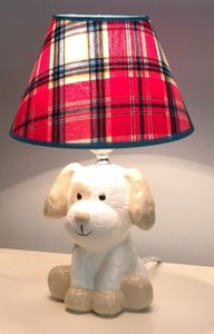 Max The Puppy Lamp