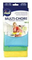 Multi Chore Microfiber Cleaning Cloths