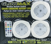 Multi Color Lights (set of 3) w/ Remote