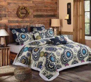 Nadira  (3 pc) Sherpa Quilt Ensmeble