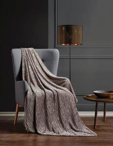 Nerissa Silver Series Luxury Throw Blanket