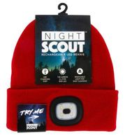 Night Scout Rechargeable LED Beanie Hat