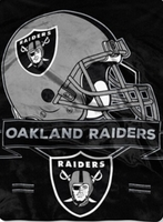 Oakland Raiders NFL Blankets