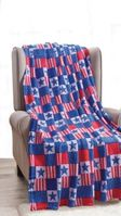 Patriotic Throw Blanket