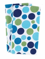 Polka Dot Micofiber Dish Towels:  Surf