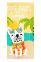 Printed Kitchen Towels Dog Days