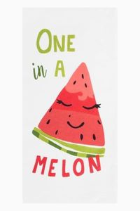 Printed Kitchen Towels One in a Melon