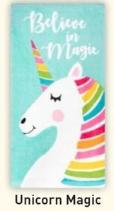 Printed Kitchen Towels Unicorn Magic