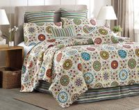Rosana King Quilt Ensemble