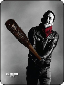 Say Hello To Lucille Walking Dead Perfect Size Throw
