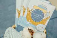 Scented Sachets Laundry Basket
