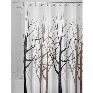 Fabric Shower Curtains Forest