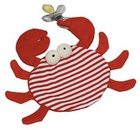 Skipper The Crab Pacifier Blankie