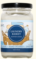 Soy Candles Laundry Basket
