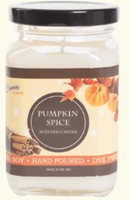 Soy Candles Pumpkin Spice