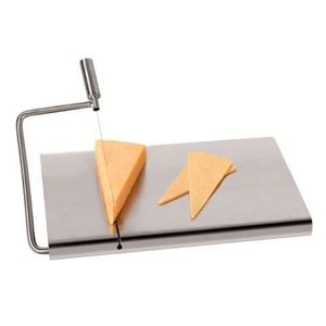 Stainless Steel Chesse Board with Slicer