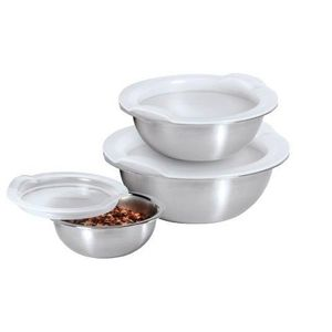 Stainless Steel Pinch Bowl Set
