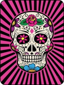 Sugar Skull Perfect Size Throw